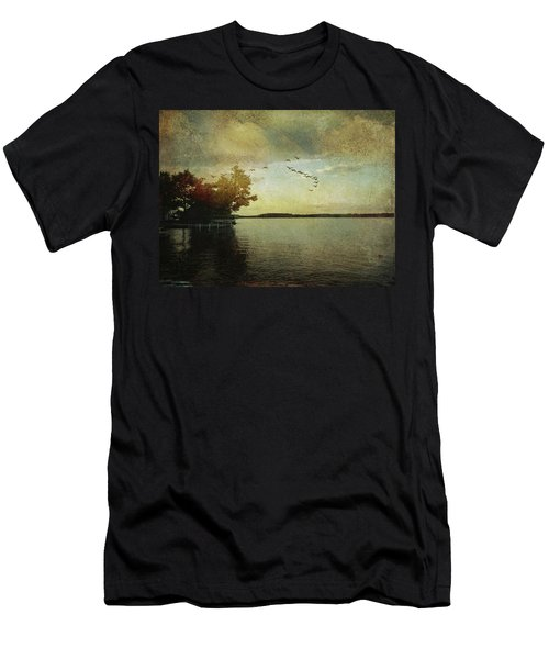 Evening, The Lake Men's T-Shirt (Athletic Fit)