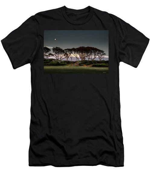 Dusk At Fort Fisher Men's T-Shirt (Slim Fit) by Phil Mancuso