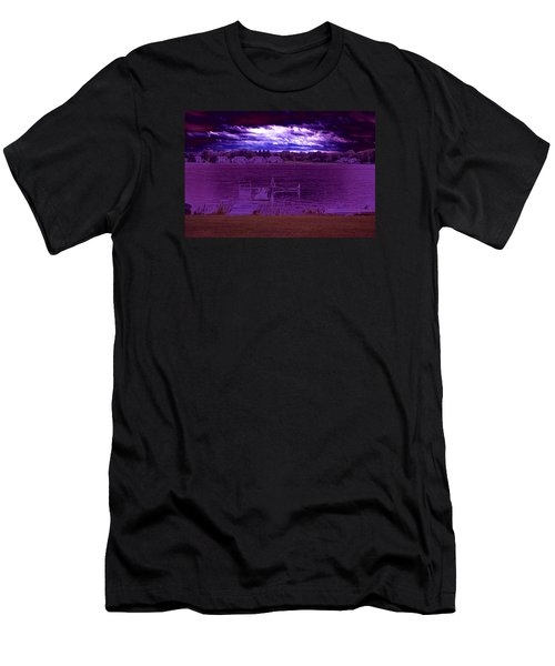 Event At The Bay Men's T-Shirt (Slim Fit) by Jake Whalen