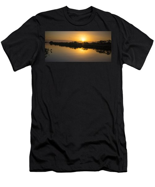 Everglades Sunset Men's T-Shirt (Athletic Fit)