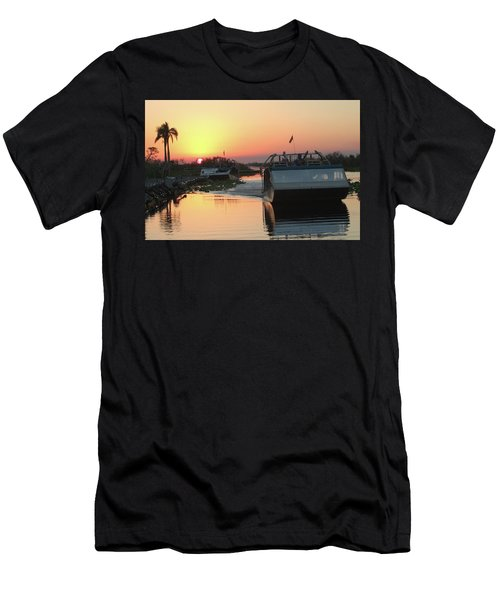 Everglades Sunset Men's T-Shirt (Athletic Fit)