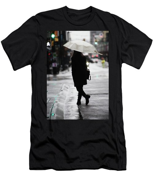 Men's T-Shirt (Slim Fit) featuring the photograph Every One Pays  by Empty Wall