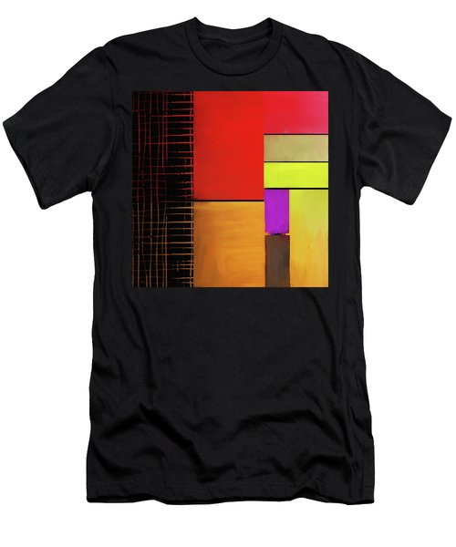 Men's T-Shirt (Athletic Fit) featuring the mixed media Everything Is Connected by Eduardo Tavares