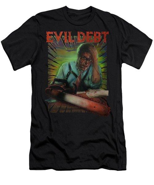 Evil Debt Men's T-Shirt (Athletic Fit)