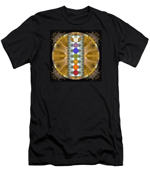 Men's T-Shirt (Slim Fit) featuring the photograph Evolving Light by Bell And Todd