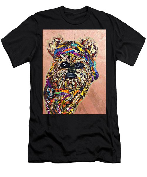 Ewok Star Wars Afrofuturist Collection Men's T-Shirt (Athletic Fit)