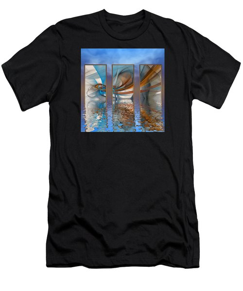 Exhibition Under The Sky Men's T-Shirt (Athletic Fit)