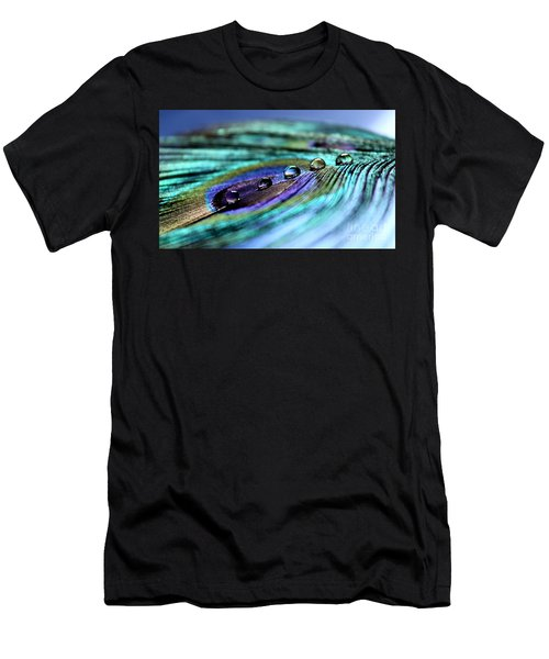 Exotic Drops Of Life Men's T-Shirt (Athletic Fit)
