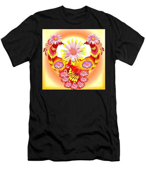 Exotic Peacocks Men's T-Shirt (Athletic Fit)