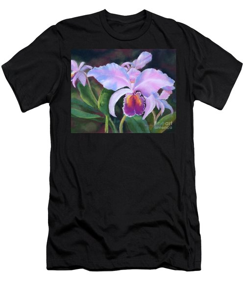 Exotic Pink Orchid Men's T-Shirt (Athletic Fit)