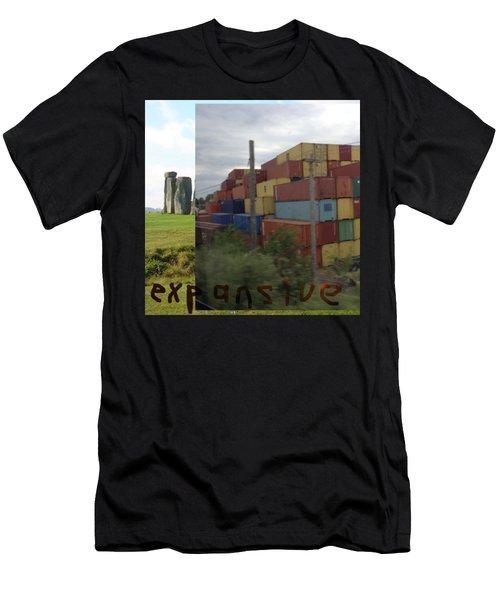 Expansive  Men's T-Shirt (Athletic Fit)