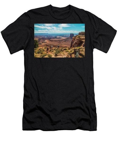 Expansive View Men's T-Shirt (Athletic Fit)