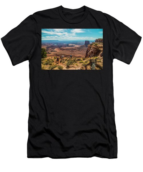 Expansive View Men's T-Shirt (Athletic Fit)