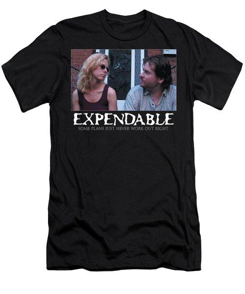 Expendable 2 - Black Men's T-Shirt (Slim Fit) by Mark Baranowski