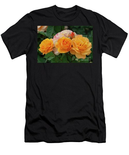 Experimental Roses 1 Men's T-Shirt (Athletic Fit)