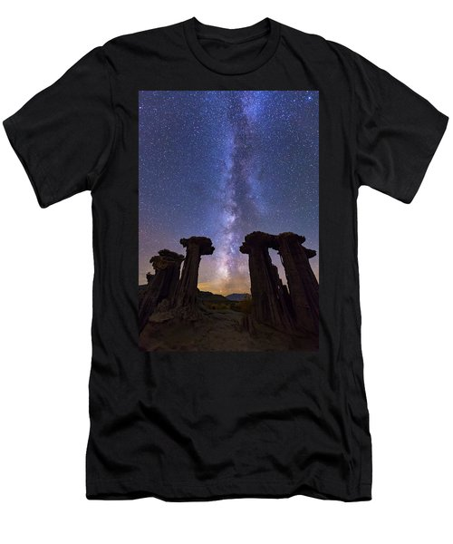 Men's T-Shirt (Athletic Fit) featuring the photograph Exploration  by Tassanee Angiolillo