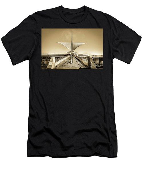 Explore Milwaukee's Art Men's T-Shirt (Athletic Fit)