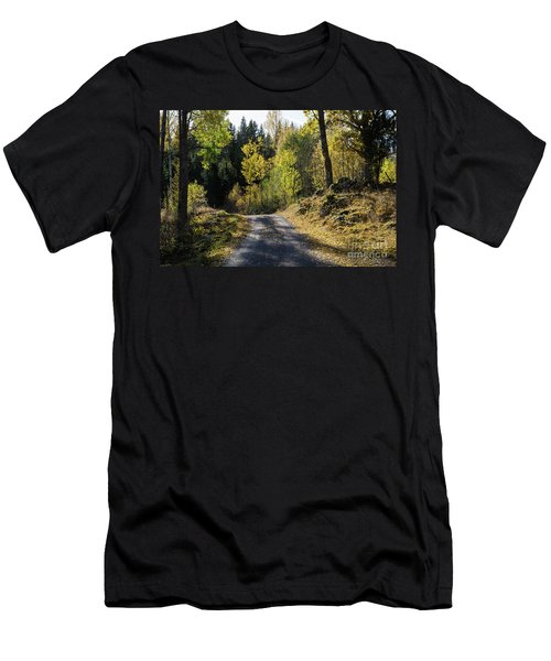 Exploring The Fall Season Men's T-Shirt (Athletic Fit)
