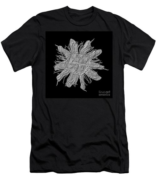 Expressive Passion Flower Manipulation 50674k3 Men's T-Shirt (Athletic Fit)
