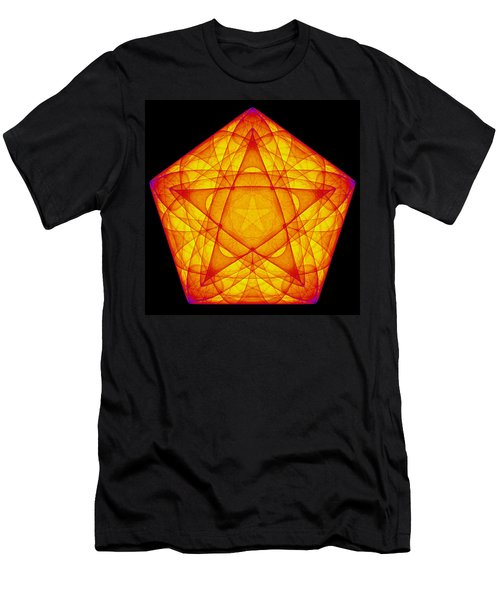 Men's T-Shirt (Athletic Fit) featuring the digital art Exprograce by Andrew Kotlinski