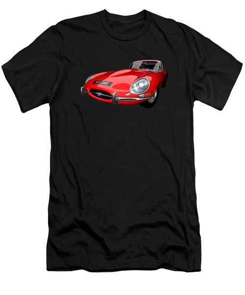 Extreme E Red Men's T-Shirt (Athletic Fit)