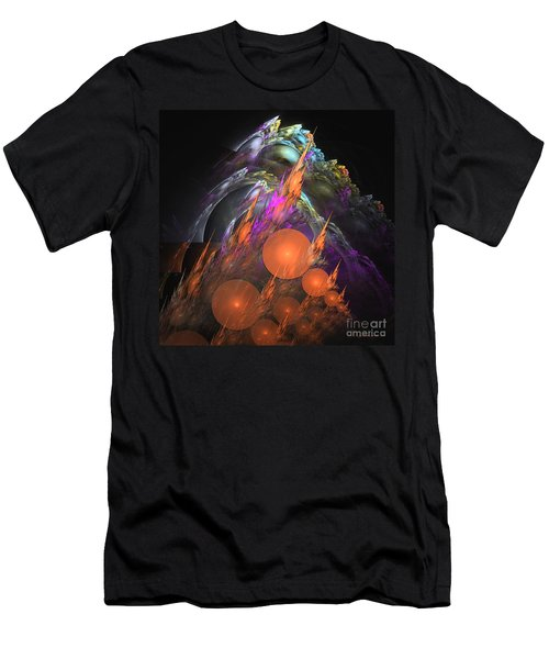 Exuberant - Abstract Art Men's T-Shirt (Athletic Fit)