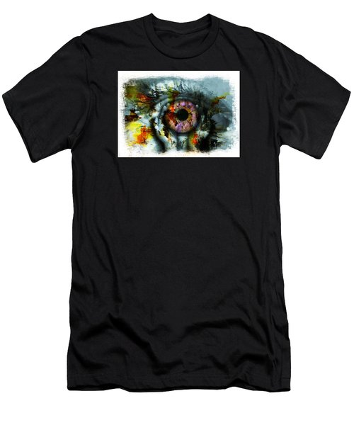 Eye In Hands 001 Men's T-Shirt (Athletic Fit)