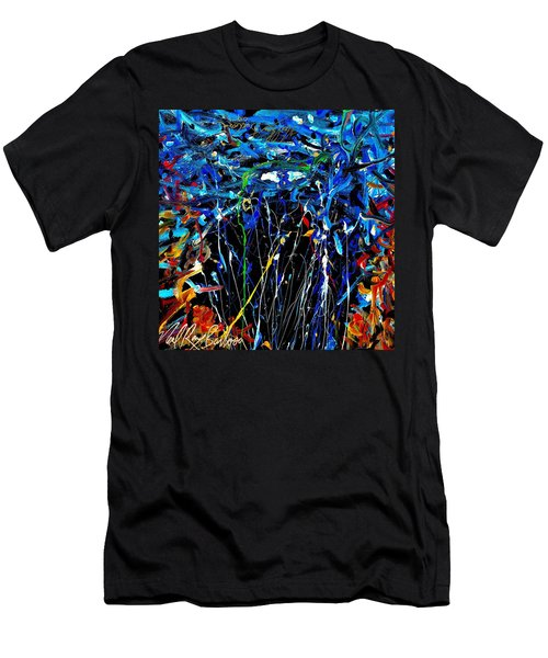 Eye In The Sky And Water Men's T-Shirt (Athletic Fit)