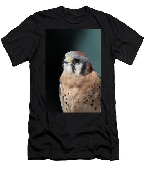 Men's T-Shirt (Slim Fit) featuring the photograph Eye Of Focus by Laddie Halupa