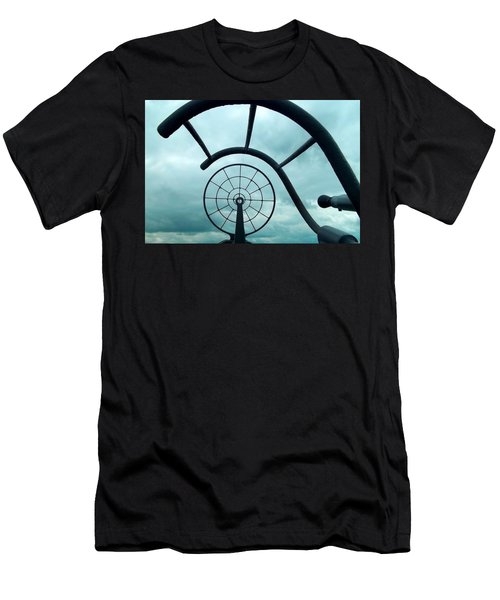 Eye Of History  Men's T-Shirt (Athletic Fit)