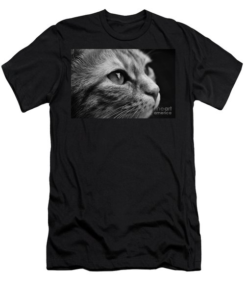 Eye Of The Cat Men's T-Shirt (Athletic Fit)