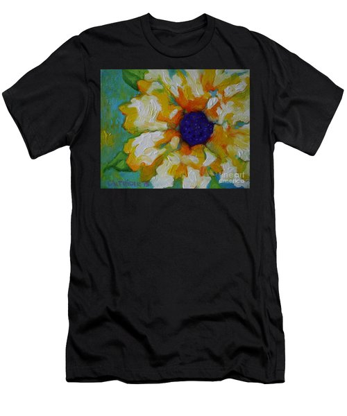 Eye Of The Flower Men's T-Shirt (Athletic Fit)