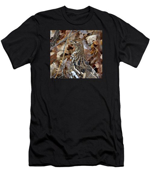 Eye Of The Rugr Men's T-Shirt (Slim Fit) by Randy Bodkins