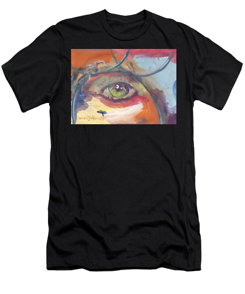 Eye See A Bird Men's T-Shirt (Athletic Fit)