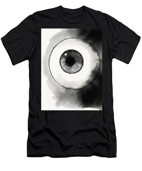 Men's T-Shirt (Athletic Fit) featuring the digital art Eyeball by Antonio Romero