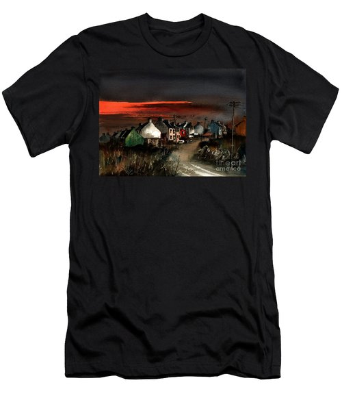 Cork Beara Eyeries Sunset Beara Men's T-Shirt (Athletic Fit)