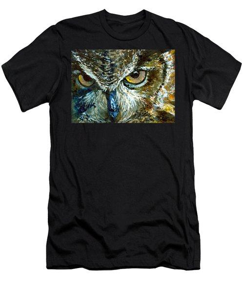 Eyes Of Owls 16 Shirt Men's T-Shirt (Athletic Fit)