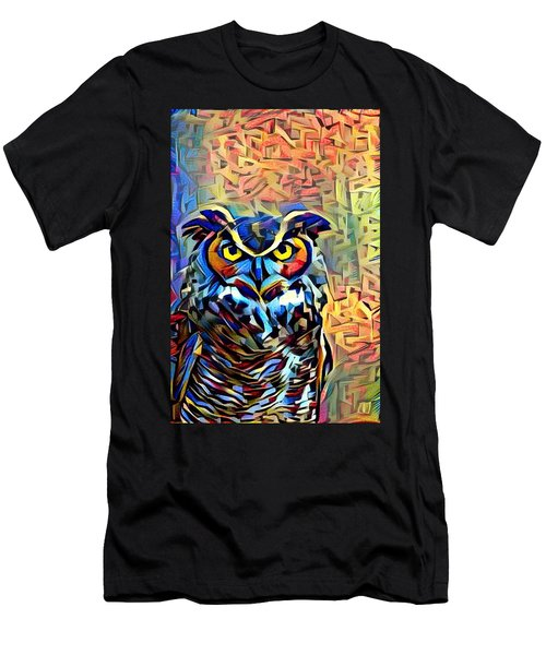 Eyes Of Wisdom Men's T-Shirt (Athletic Fit)