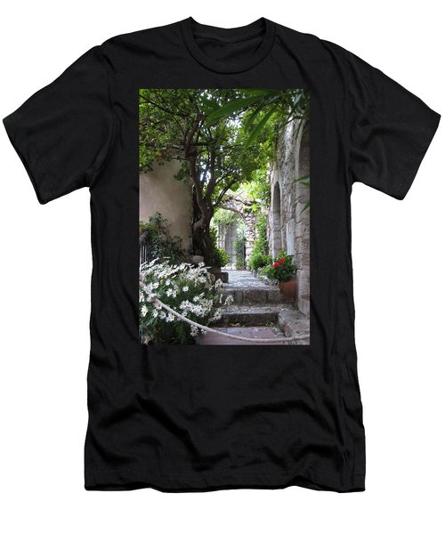 Eze Passageway Men's T-Shirt (Slim Fit) by Carla Parris