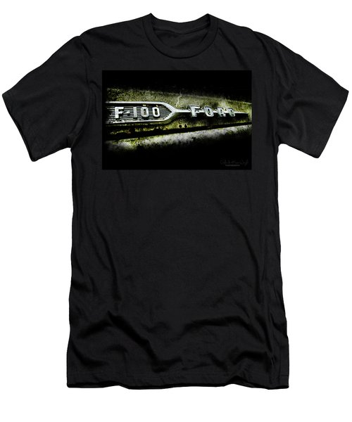 Men's T-Shirt (Athletic Fit) featuring the photograph F-100 Ford by Glenda Wright
