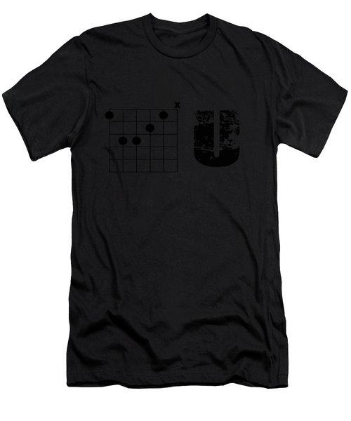 F Chord U Men's T-Shirt (Athletic Fit)