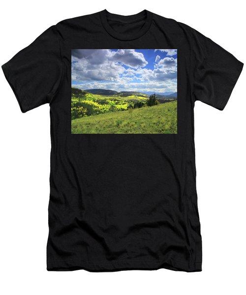 Faafallscene103 Men's T-Shirt (Athletic Fit)
