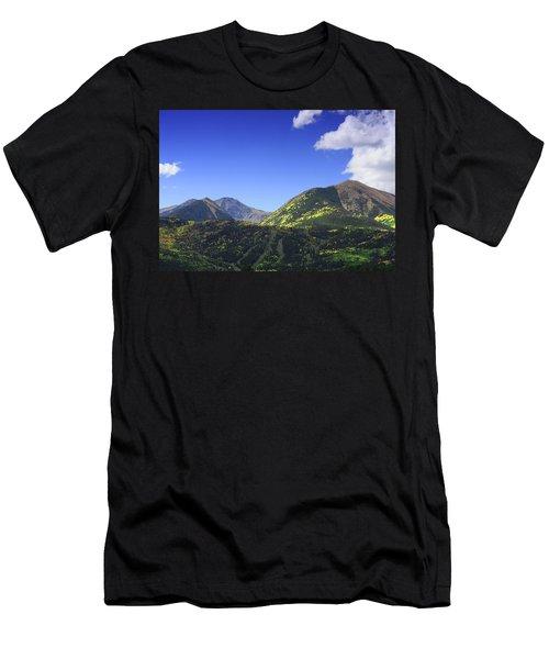Faafallscene107 Men's T-Shirt (Athletic Fit)