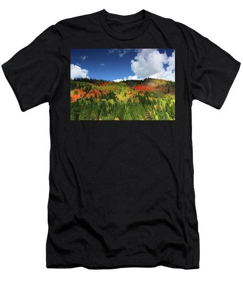 Faafallscene115 Men's T-Shirt (Athletic Fit)