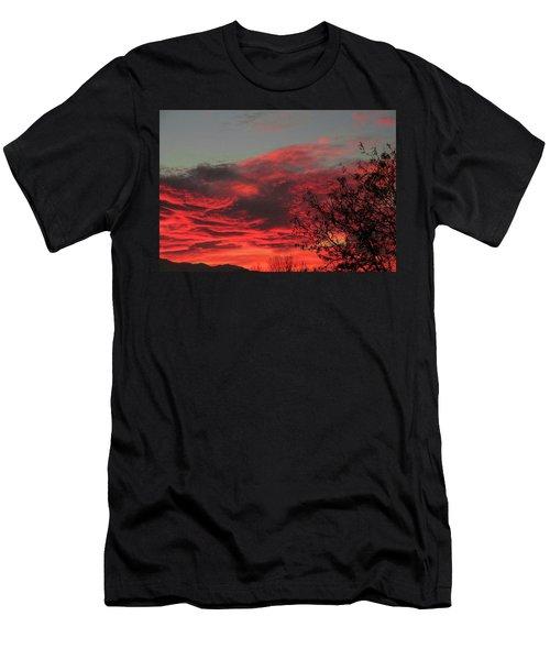 Faafallsky001 Men's T-Shirt (Athletic Fit)
