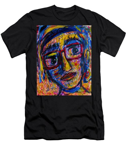 Face 11 Men's T-Shirt (Slim Fit) by Natalie Holland