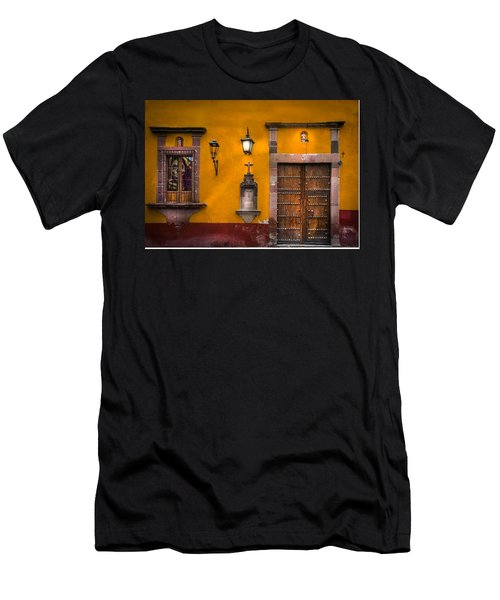 Face In The Window Men's T-Shirt (Athletic Fit)