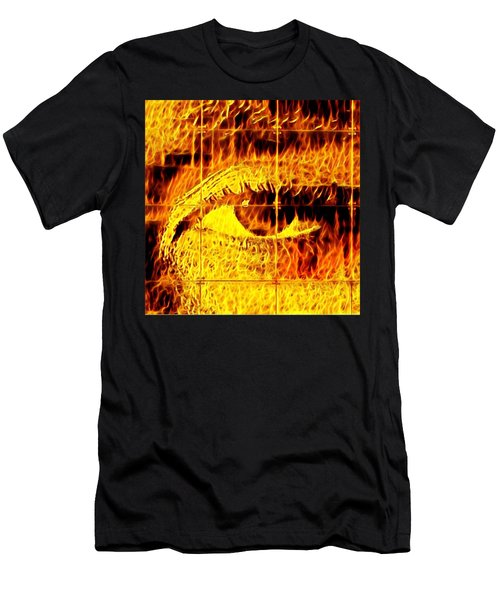 Face The Fire Men's T-Shirt (Athletic Fit)
