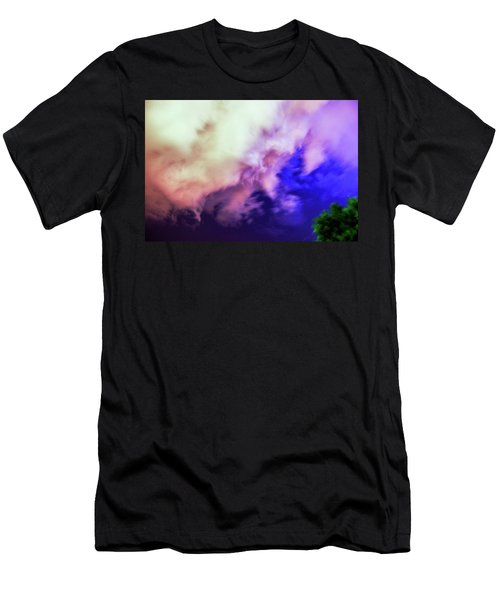 Faces In The Clouds 002 Men's T-Shirt (Athletic Fit)