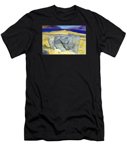 Faces Of The Rocks Men's T-Shirt (Athletic Fit)